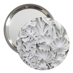 Pattern Motif Decor 3  Handbag Mirrors