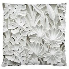 Pattern Motif Decor Large Flano Cushion Case (Two Sides)