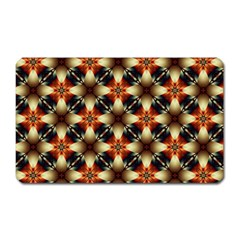 Kaleidoscope Image Background Magnet (Rectangular)