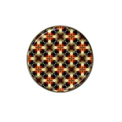 Kaleidoscope Image Background Hat Clip Ball Marker (4 Pack)