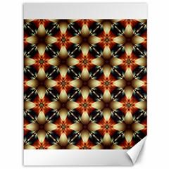 Kaleidoscope Image Background Canvas 36  X 48