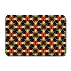 Kaleidoscope Image Background Small Doormat