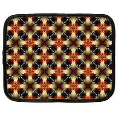Kaleidoscope Image Background Netbook Case (large)