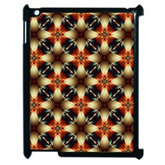 Kaleidoscope Image Background Apple Ipad 2 Case (black)