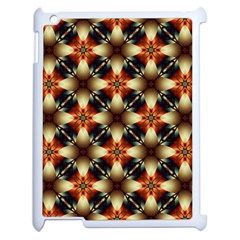 Kaleidoscope Image Background Apple Ipad 2 Case (white)