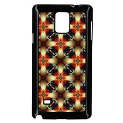 Kaleidoscope Image Background Samsung Galaxy Note 4 Case (Black)