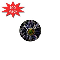Flower Structure Photo Montage 1  Mini Magnets (100 pack)