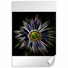 Flower Structure Photo Montage Canvas 24  X 36