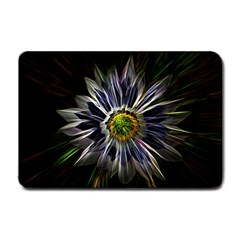 Flower Structure Photo Montage Small Doormat