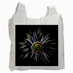 Flower Structure Photo Montage Recycle Bag (Two Side)