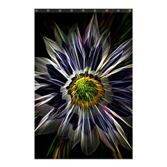 Flower Structure Photo Montage Shower Curtain 48  x 72  (Small)