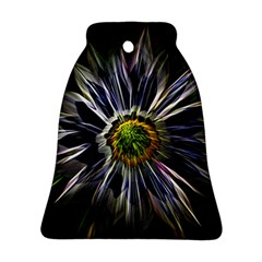 Flower Structure Photo Montage Ornament (Bell)