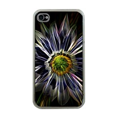 Flower Structure Photo Montage Apple Iphone 4 Case (clear)