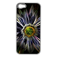 Flower Structure Photo Montage Apple Iphone 5 Case (silver)