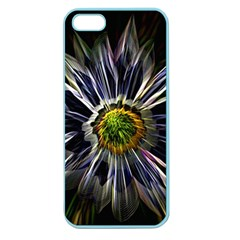 Flower Structure Photo Montage Apple Seamless iPhone 5 Case (Color)