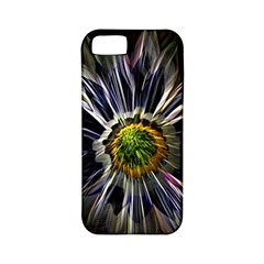 Flower Structure Photo Montage Apple iPhone 5 Classic Hardshell Case (PC+Silicone)