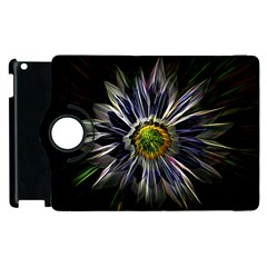 Flower Structure Photo Montage Apple iPad 2 Flip 360 Case