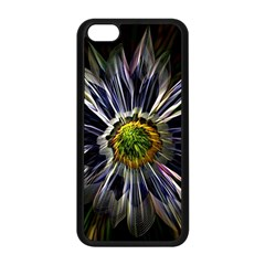 Flower Structure Photo Montage Apple iPhone 5C Seamless Case (Black)