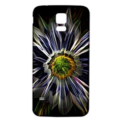 Flower Structure Photo Montage Samsung Galaxy S5 Back Case (white)