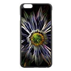 Flower Structure Photo Montage Apple iPhone 6 Plus/6S Plus Black Enamel Case
