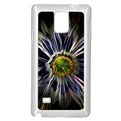Flower Structure Photo Montage Samsung Galaxy Note 4 Case (white)