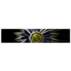 Flower Structure Photo Montage Flano Scarf (small)