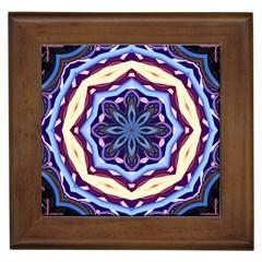 Mandala Art Design Pattern Framed Tiles