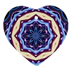 Mandala Art Design Pattern Ornament (Heart)