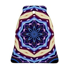 Mandala Art Design Pattern Bell Ornament (Two Sides)