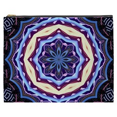 Mandala Art Design Pattern Cosmetic Bag (XXXL)
