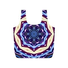 Mandala Art Design Pattern Full Print Recycle Bags (S)