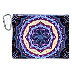 Mandala Art Design Pattern Canvas Cosmetic Bag (XXL)