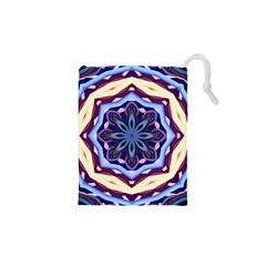 Mandala Art Design Pattern Drawstring Pouches (xs)