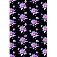 Flowers Pattern Background Lilac 5 5  X 8 5  Notebooks