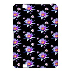 Flowers Pattern Background Lilac Kindle Fire HD 8.9