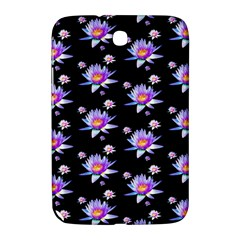Flowers Pattern Background Lilac Samsung Galaxy Note 8 0 N5100 Hardshell Case