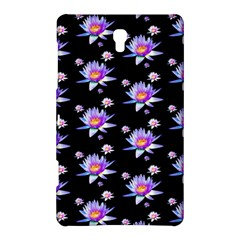 Flowers Pattern Background Lilac Samsung Galaxy Tab S (8.4 ) Hardshell Case