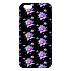Flowers Pattern Background Lilac iPhone 6 Plus/6S Plus TPU Case