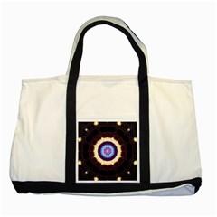 Mandala Art Design Pattern Two Tone Tote Bag