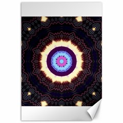 Mandala Art Design Pattern Canvas 12  x 18