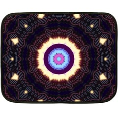 Mandala Art Design Pattern Double Sided Fleece Blanket (mini)