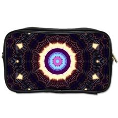 Mandala Art Design Pattern Toiletries Bags 2-Side