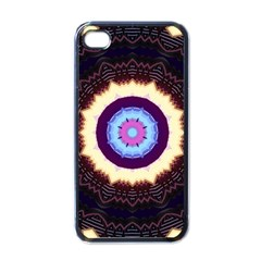 Mandala Art Design Pattern Apple iPhone 4 Case (Black)