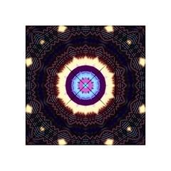 Mandala Art Design Pattern Acrylic Tangram Puzzle (4  X 4 )