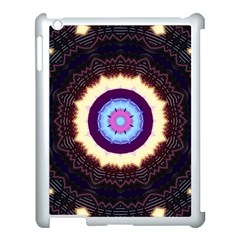 Mandala Art Design Pattern Apple iPad 3/4 Case (White)