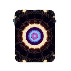 Mandala Art Design Pattern Apple Ipad 2/3/4 Protective Soft Cases