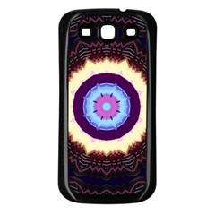 Mandala Art Design Pattern Samsung Galaxy S3 Back Case (black)
