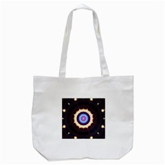 Mandala Art Design Pattern Tote Bag (white)