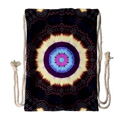Mandala Art Design Pattern Drawstring Bag (large)