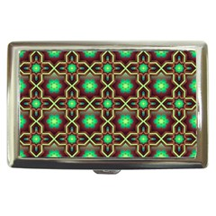 Pattern Background Bright Brown Cigarette Money Cases